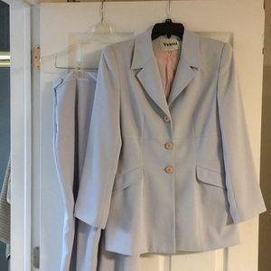 Light blue pant suit blazer size 12